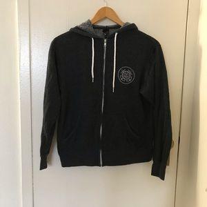 Obey zip up hoodie
